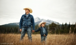 Country-Father-And-Son
